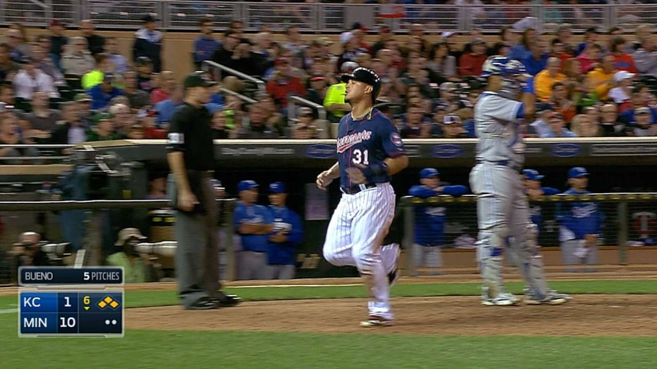 Twins break out the lumber for quality Nolasco