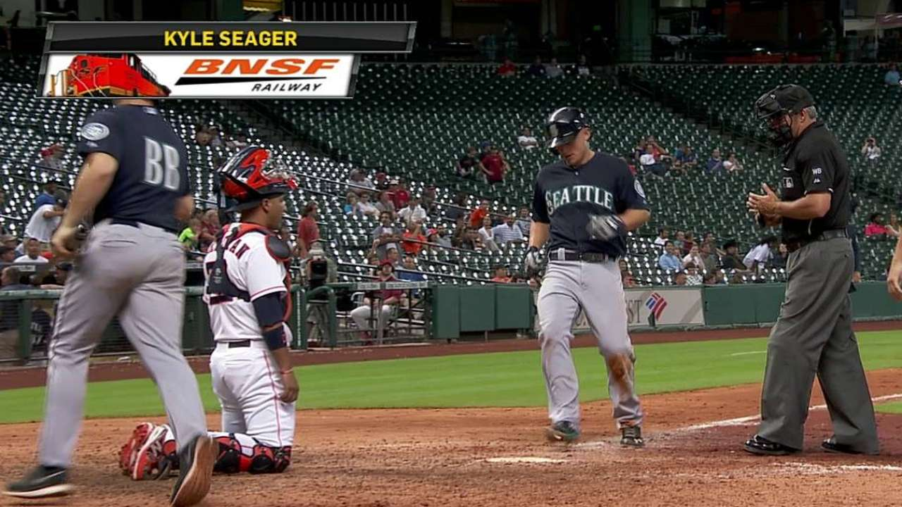 Seager making claim for spot in All-Star Game