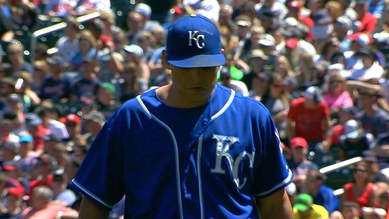 Royals unsure if Vargas will need rehab stint