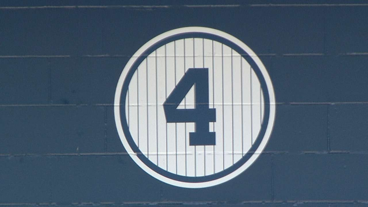 Yankees honor Gehrig's words, opening MLB initiative