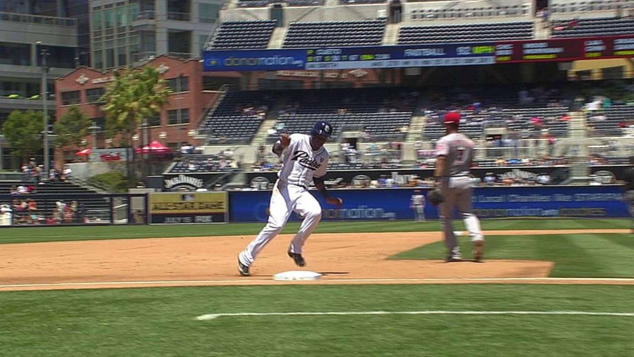 Out call on appeal play in San Diego stands after review