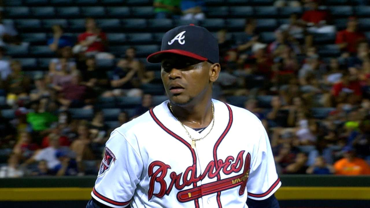 Braves could alter rotation for Teheran to pitch in ASG