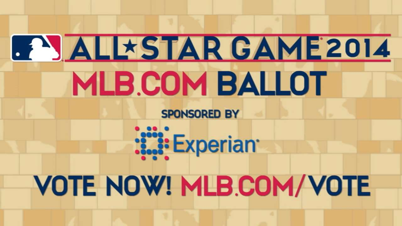 McCutchen, Walker can use help on All-Star ballot