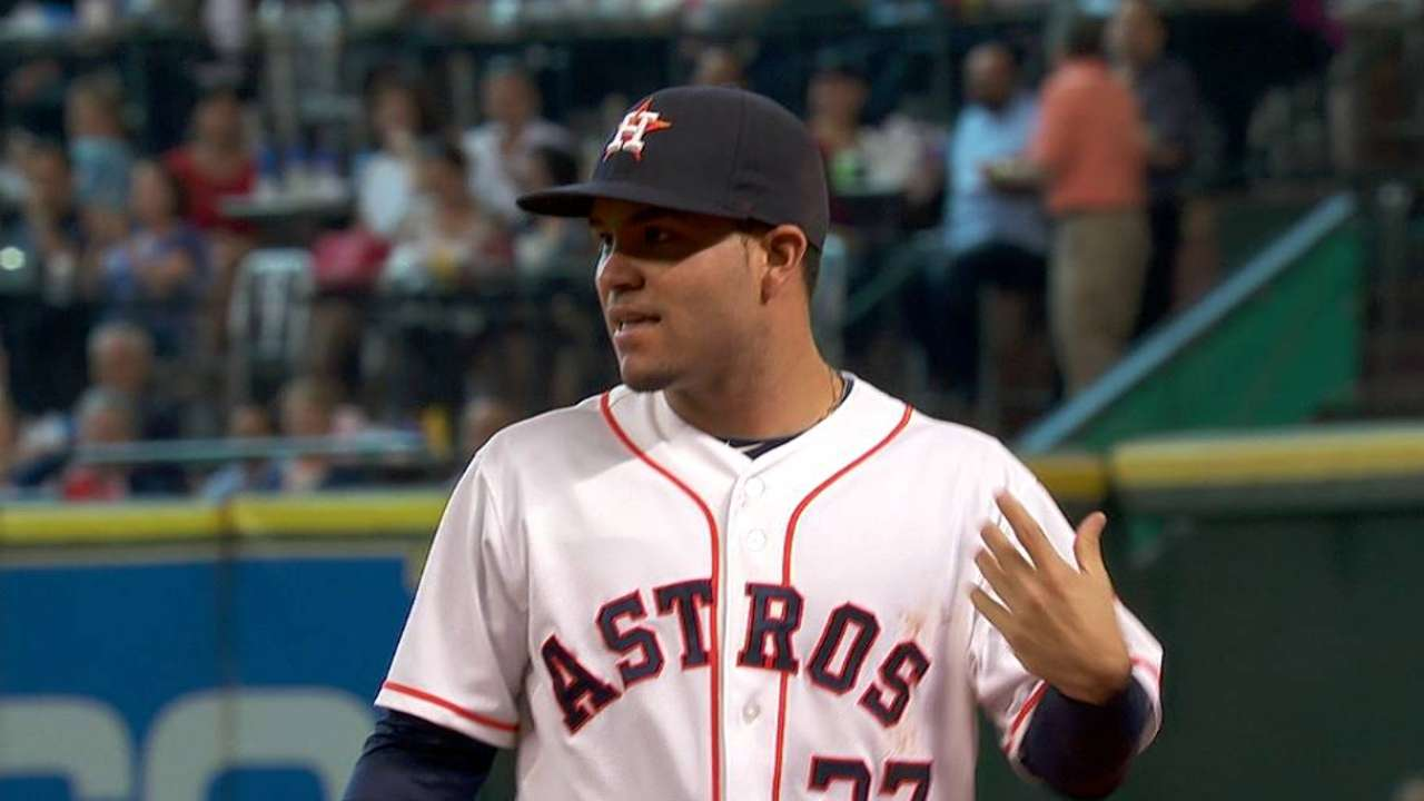Santana living out father's dream with Astros