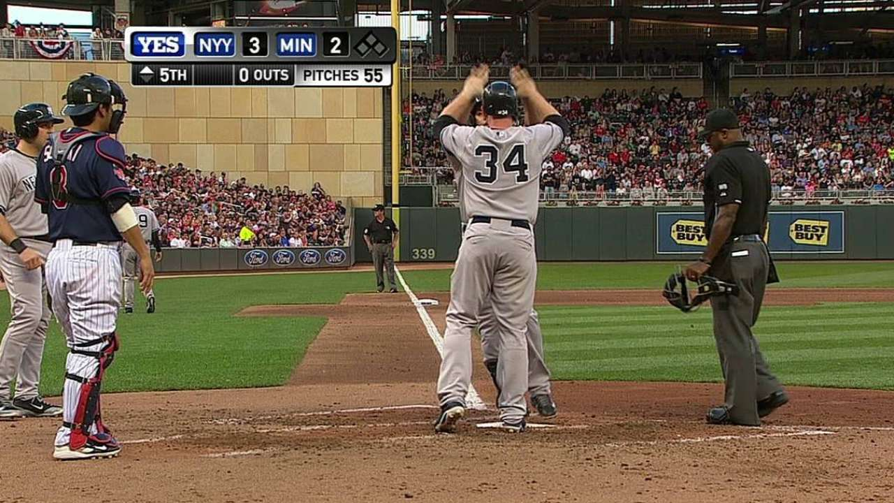 Beltrán, Tanaka dan a Yankees triunfo en Minnesota