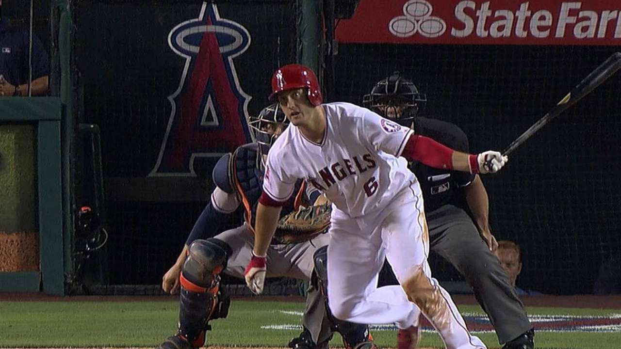 Freese getting hot while trying to go to all fields