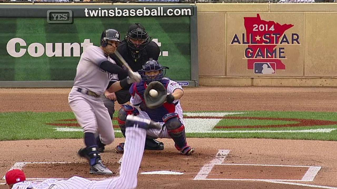 Roberts y el bullpen de Yankees lucen vs. Mellizos