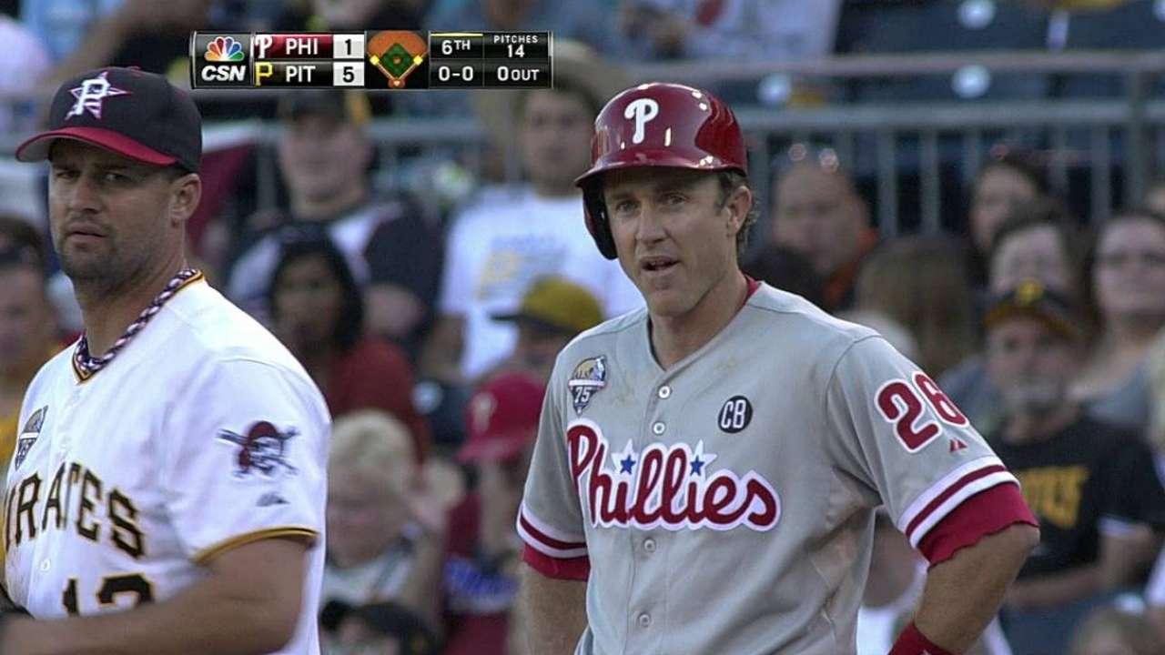 Four-run first sinks Phillies in opener vs. Bucs