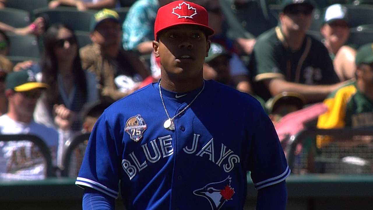 Stroman pitches a gem, but Jays can't generate runs