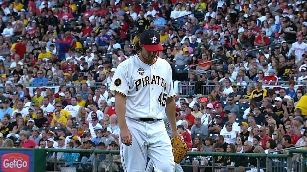 Pirates plan to take their time with Cole