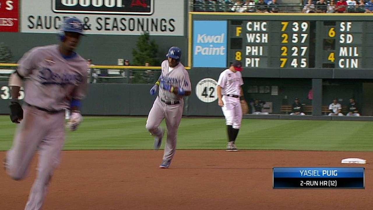 Kershaw y Dodgers pintaron de blanco a Rockies