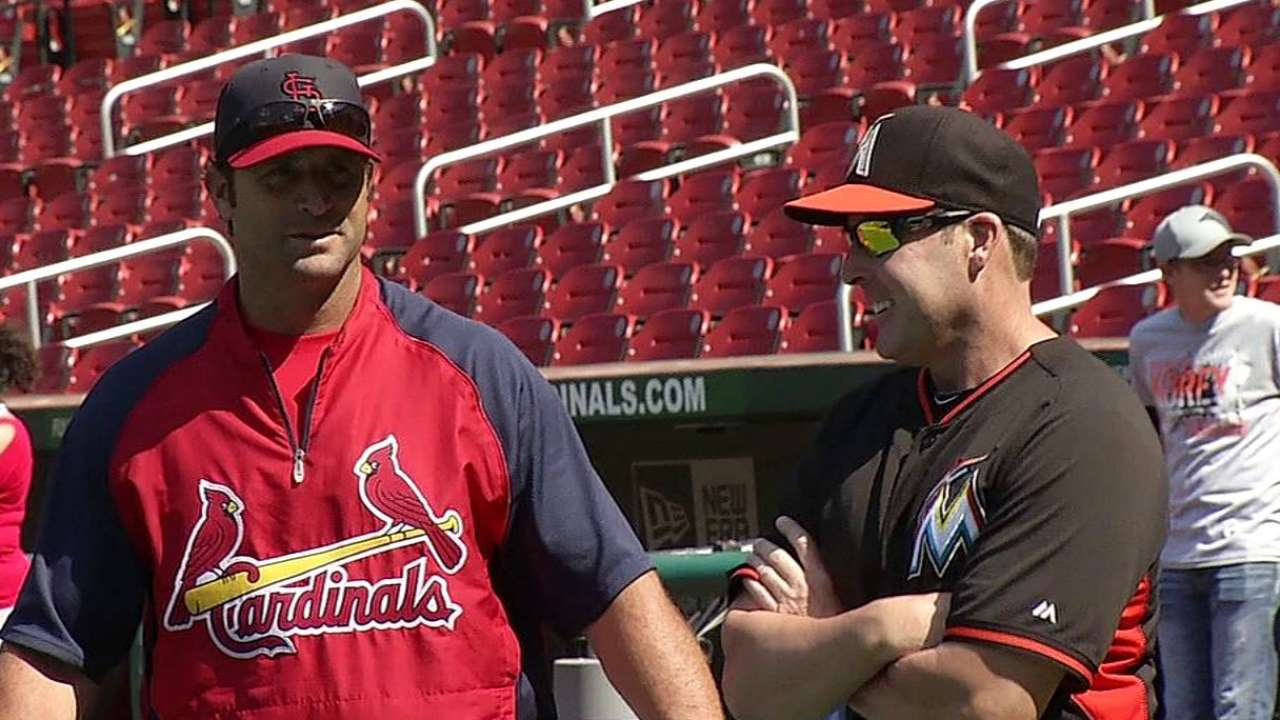 Redmond looks to state Marlins' case to ASG skipper