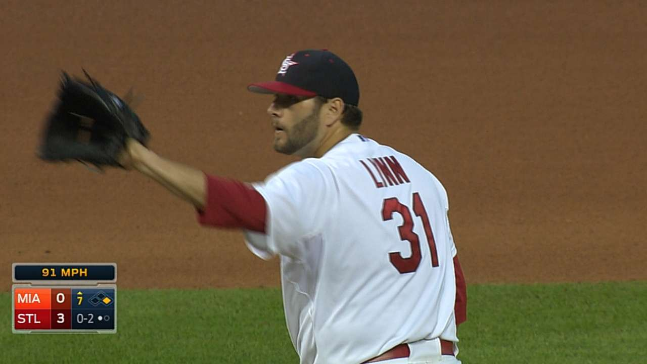 New blister not a problem in Lynn's scoreless start