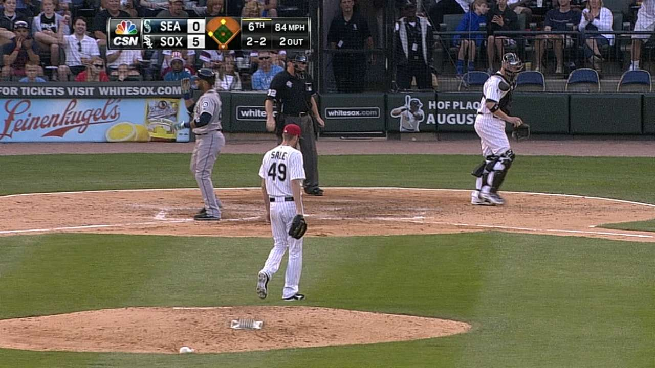 Sale's slider proves too much for Seattle to handle