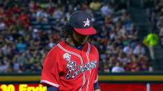 Braves win eighth straight behind resurgent Santana
