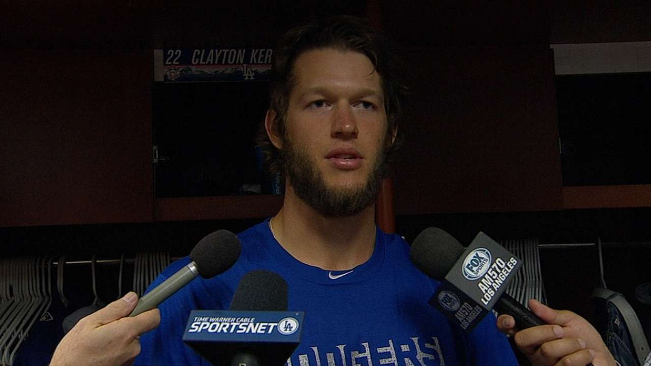 Dodgers have plan if Kershaw starts for NL