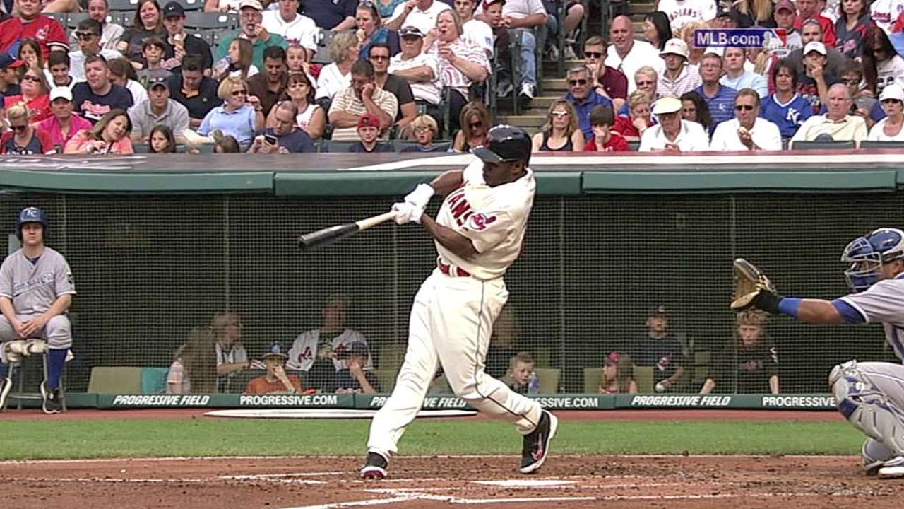 Bourn back in leadoff spot after coming off DL