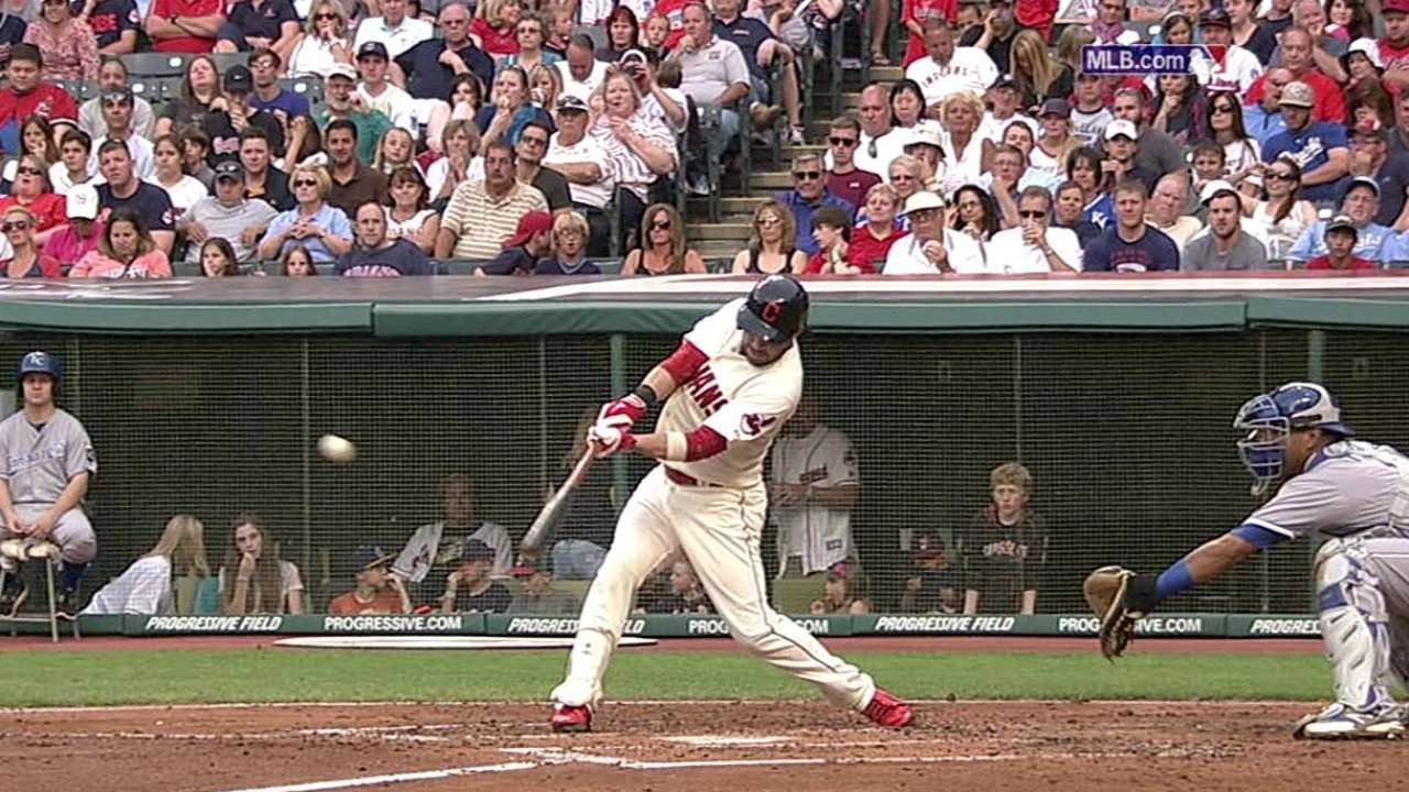 Kipnis shows flashes of regaining form at plate