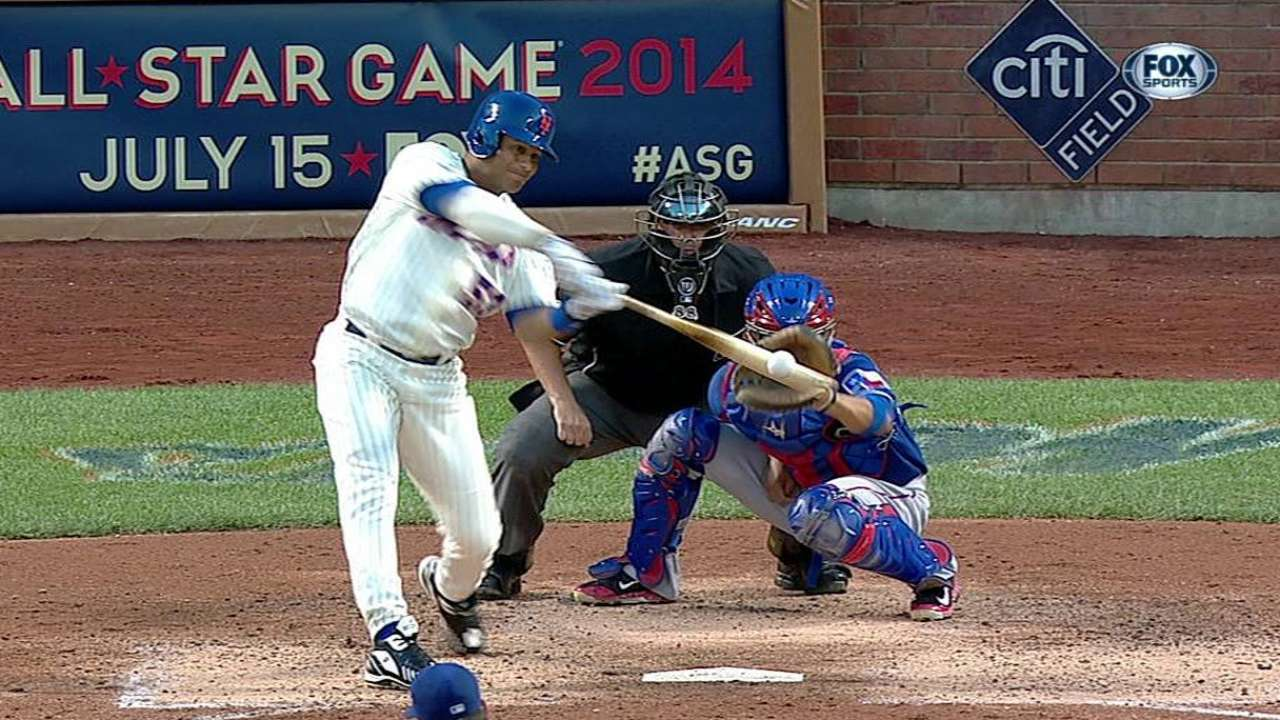 Abreu impulsa carrera pero Mets caen con Rangers