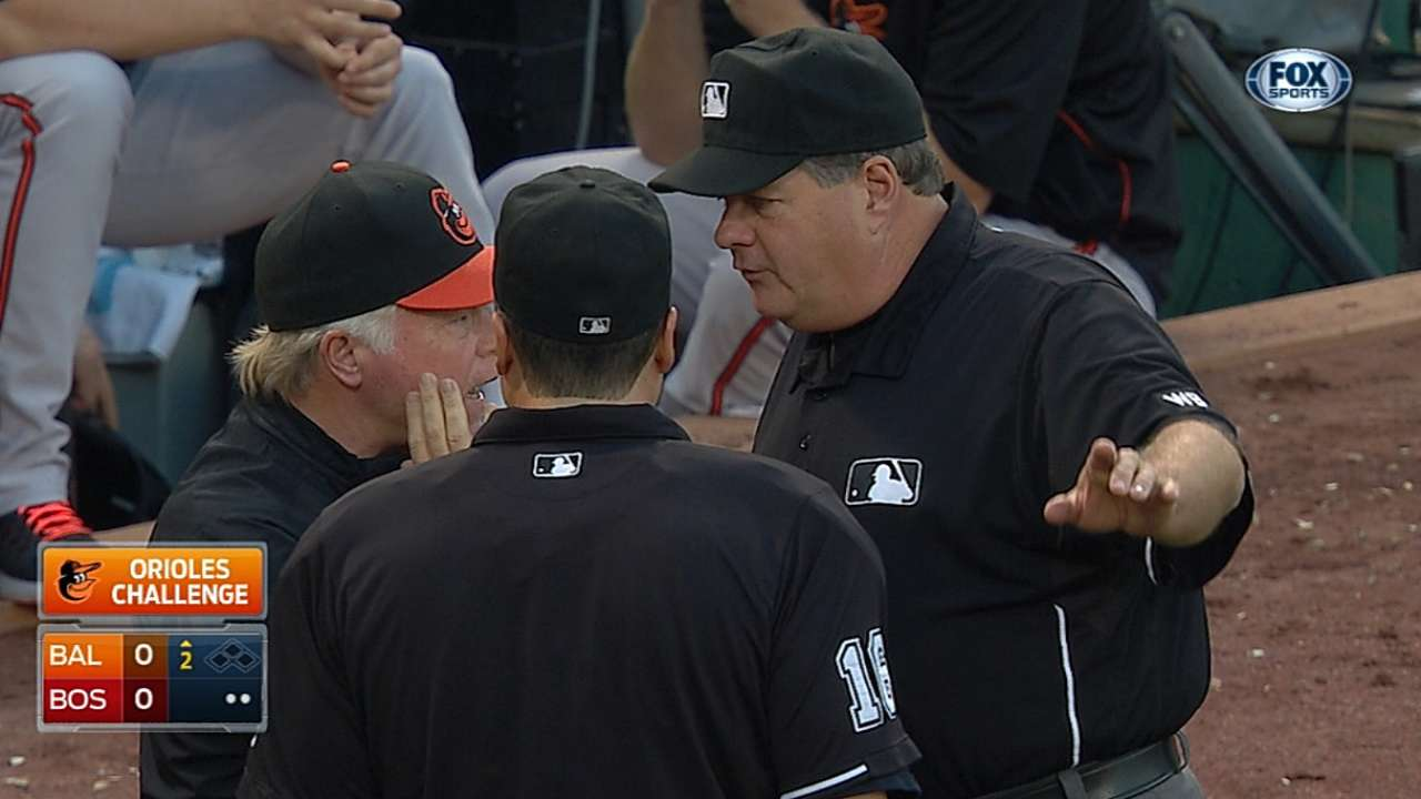 O's win review, but Hardy sent back to first base