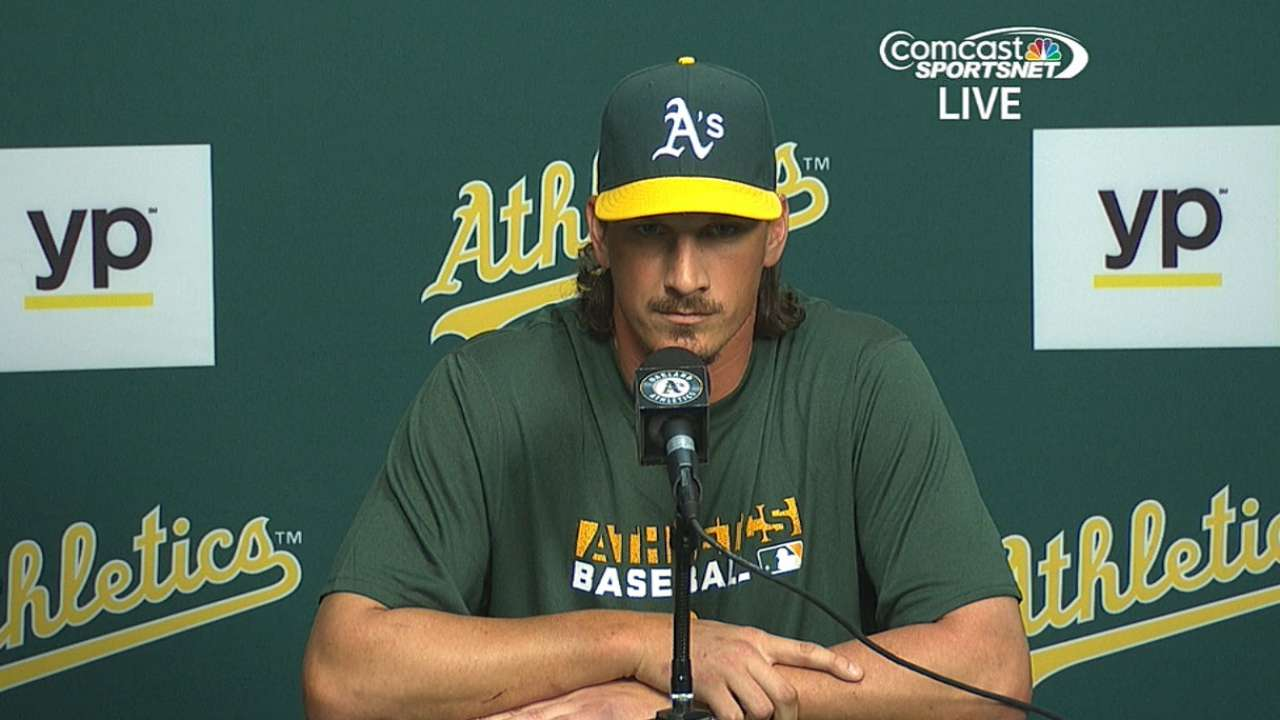 A's players shocked, pumped about blockbuster deal