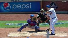 Mets use big first frame to take finale from Rangers