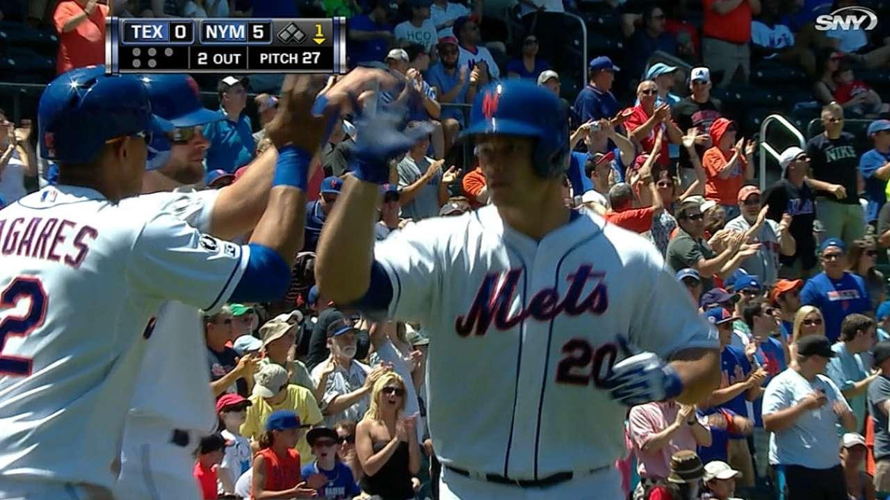 Mets madrugan y se llevan la serie ante Rangers
