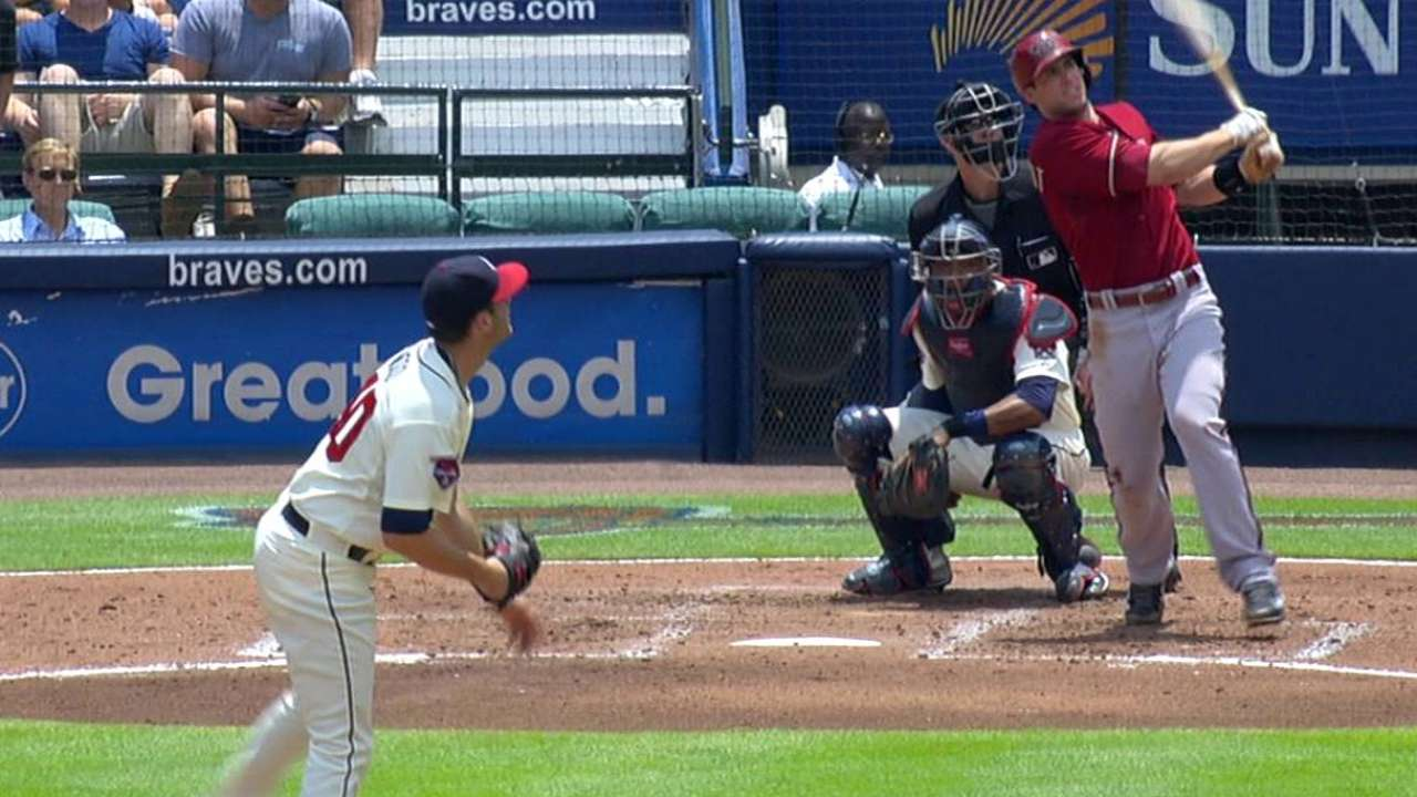 D-backs lograron frenar a Bravos detrás de Miley