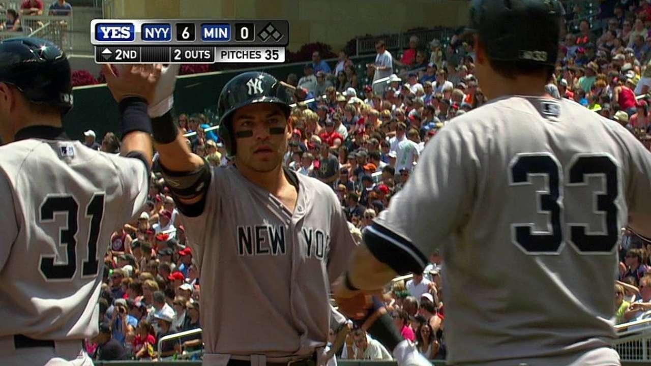 Yankees aguantan y toman la serie contra Mellizos