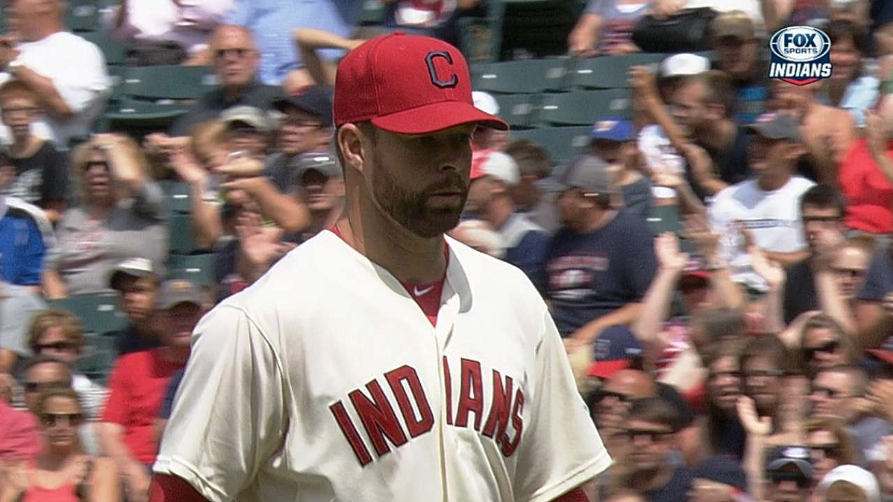 MLB Notebook: Tribe hurler putting 'K' in Kluber