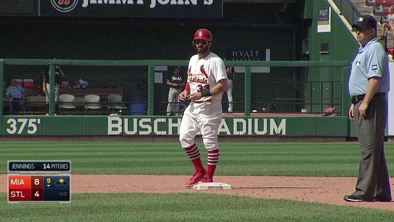 Days off costing Descalso, Ellis at-bats