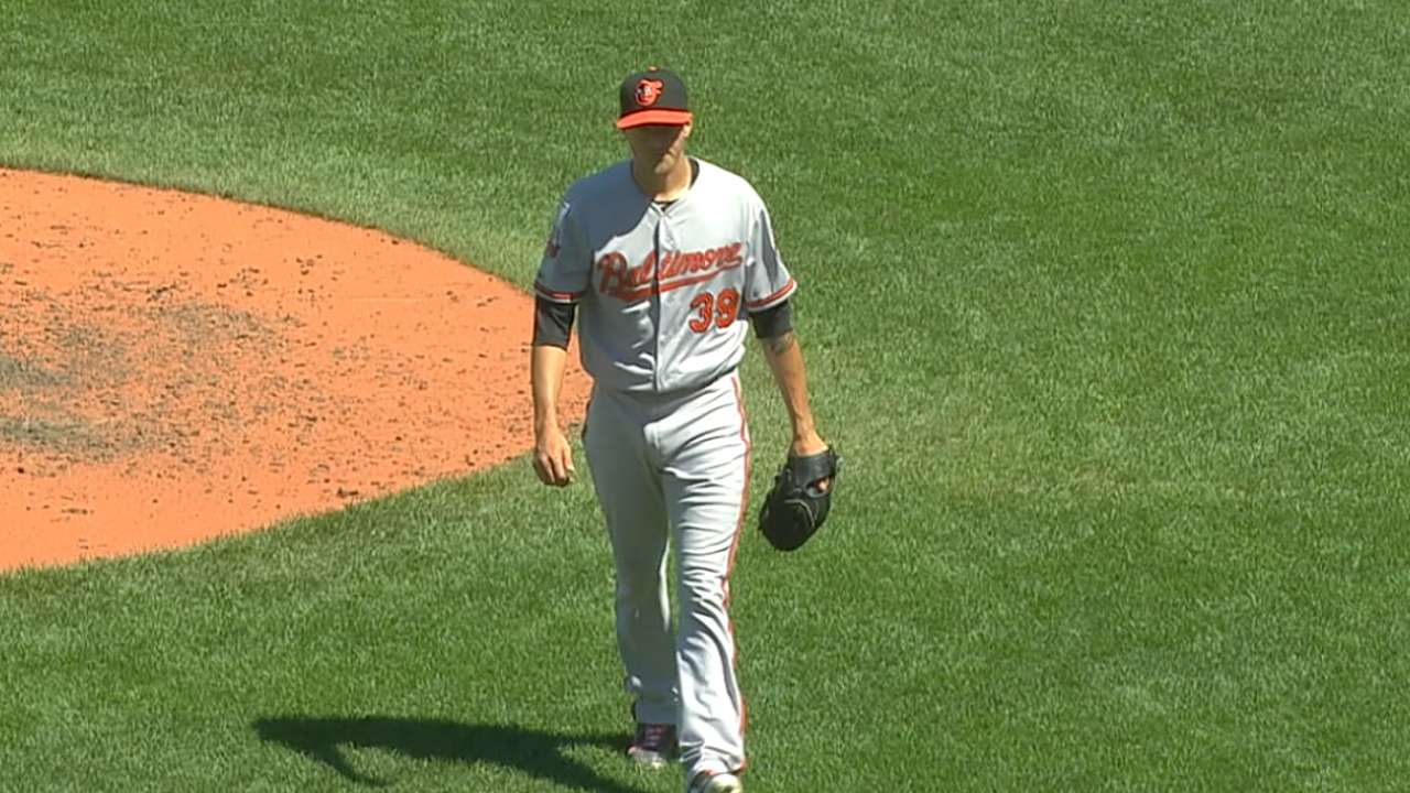 Gausman optioned to clear room for bullpen arm
