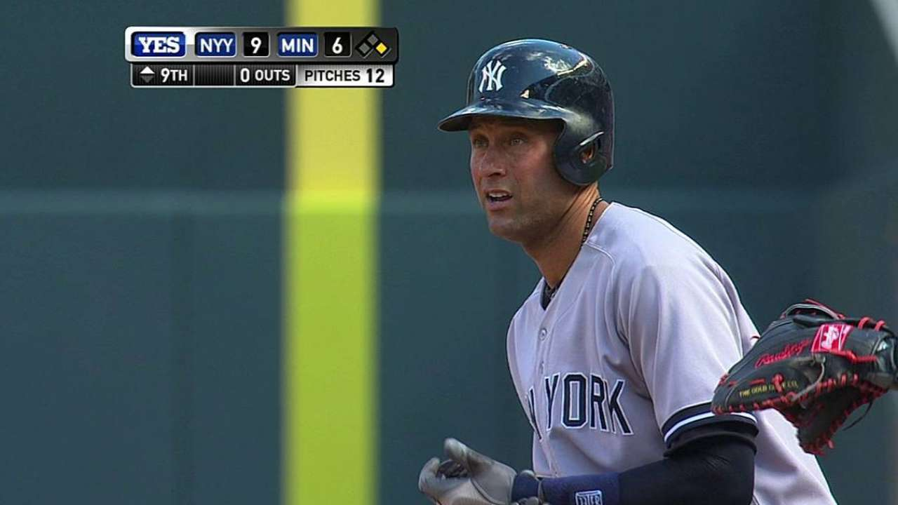 Jeter reminisces about first Opening Day