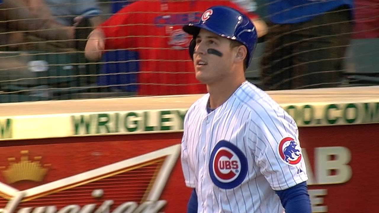Slugging first baseman Rizzo up for Final Vote
