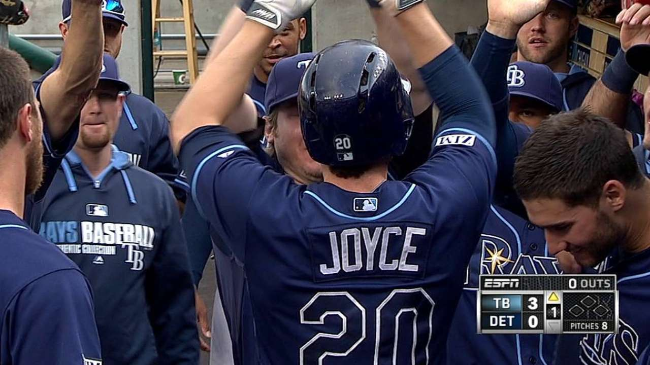 Review turns Joyce's triple into homer in Detroit