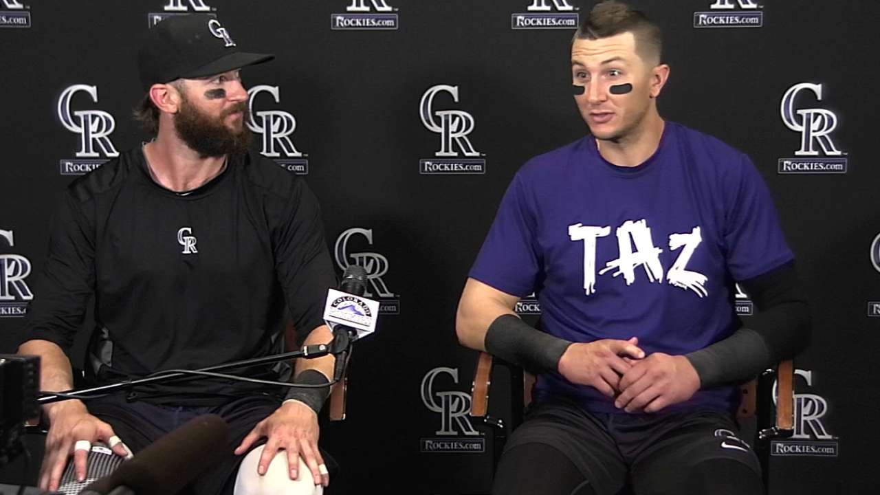 Tulo, Blackmon named to NL All-Star squad