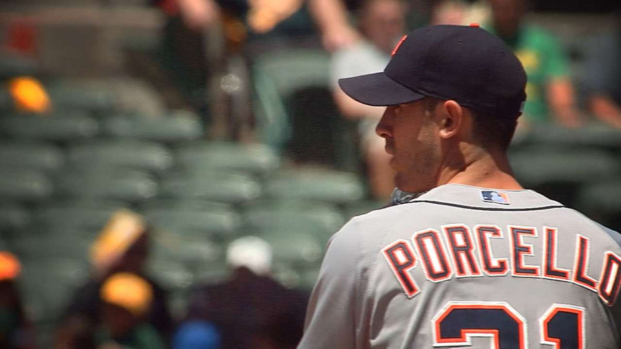 Detroit boosting Porcello with Final Vote tandem