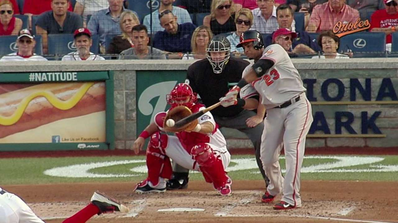 Cruz hits MLB-leading 28th home run
