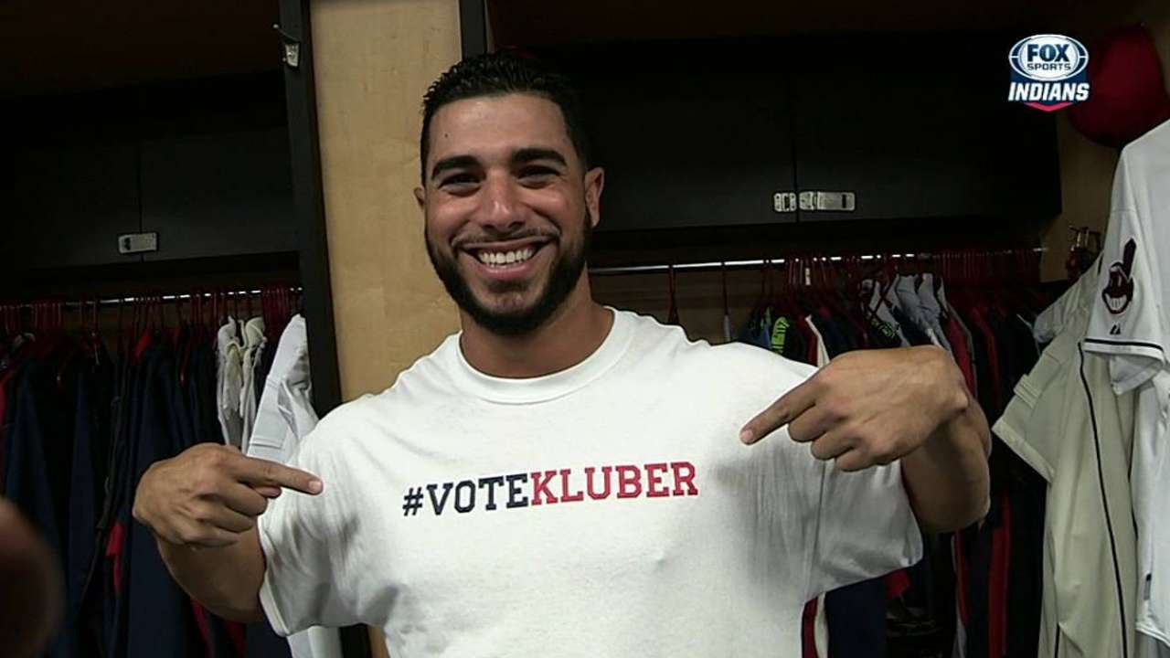 Kluber needs support to join Brantley in All-Star Game
