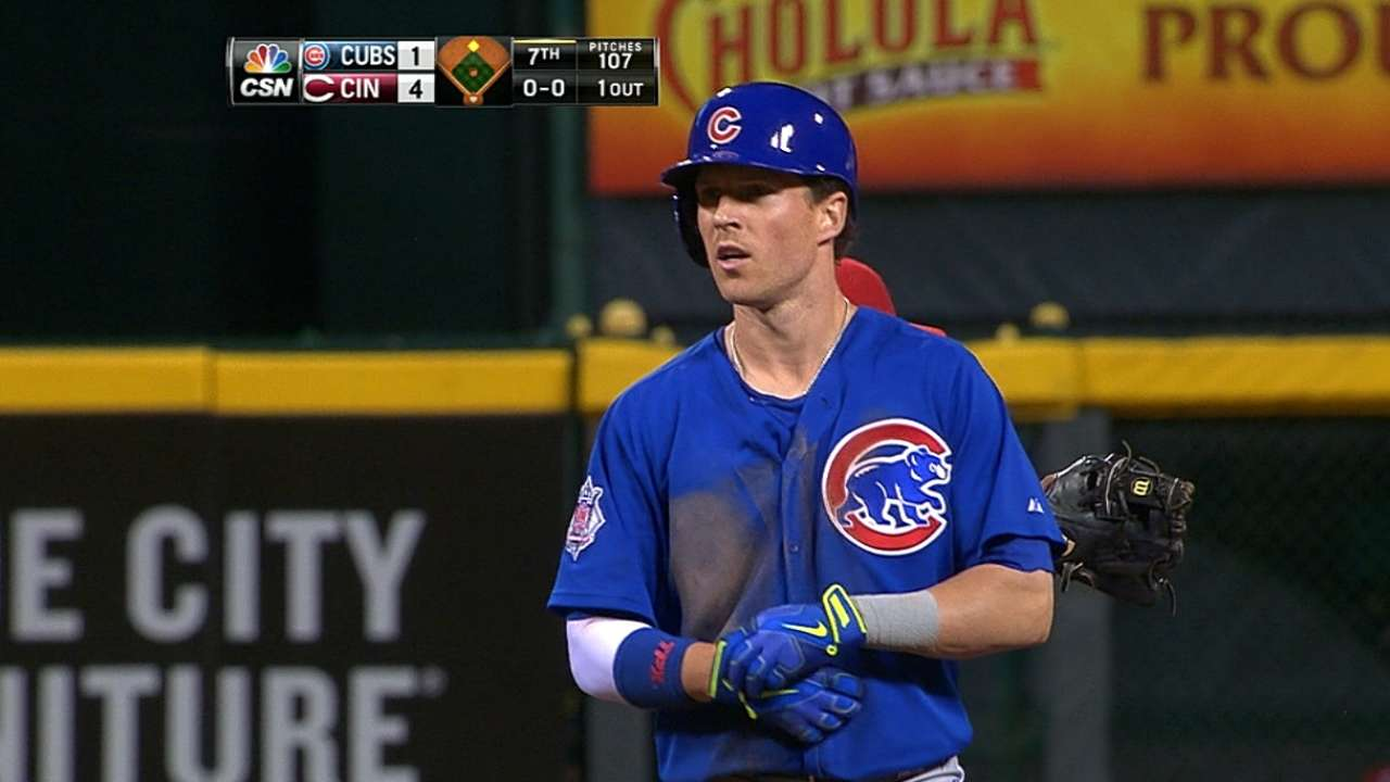 Cubs have confidence in Coghlan as leadoff man