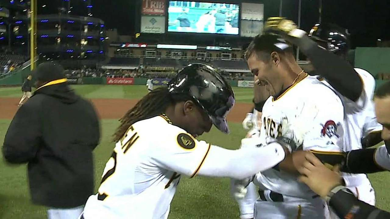 Bucs prevail in 16th on Sanchez's walk-off single