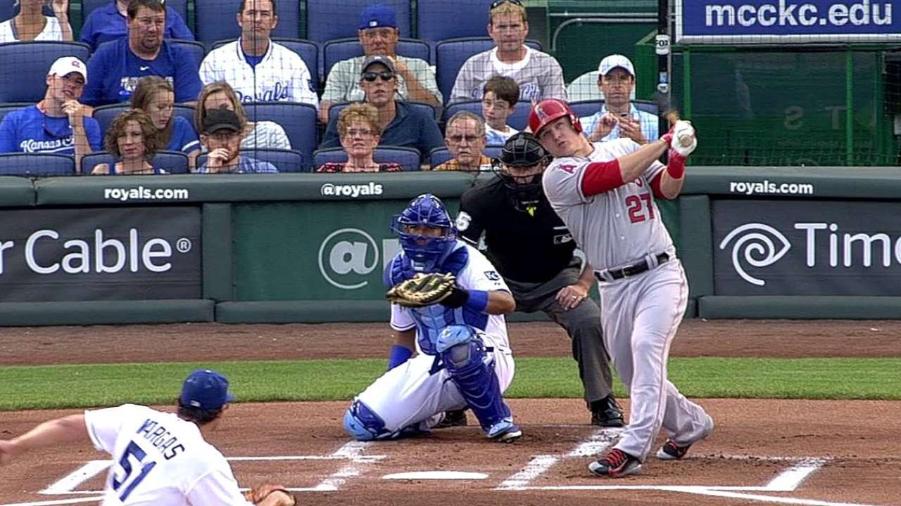 Trout has 'mixed feelings' on Home Run Derby