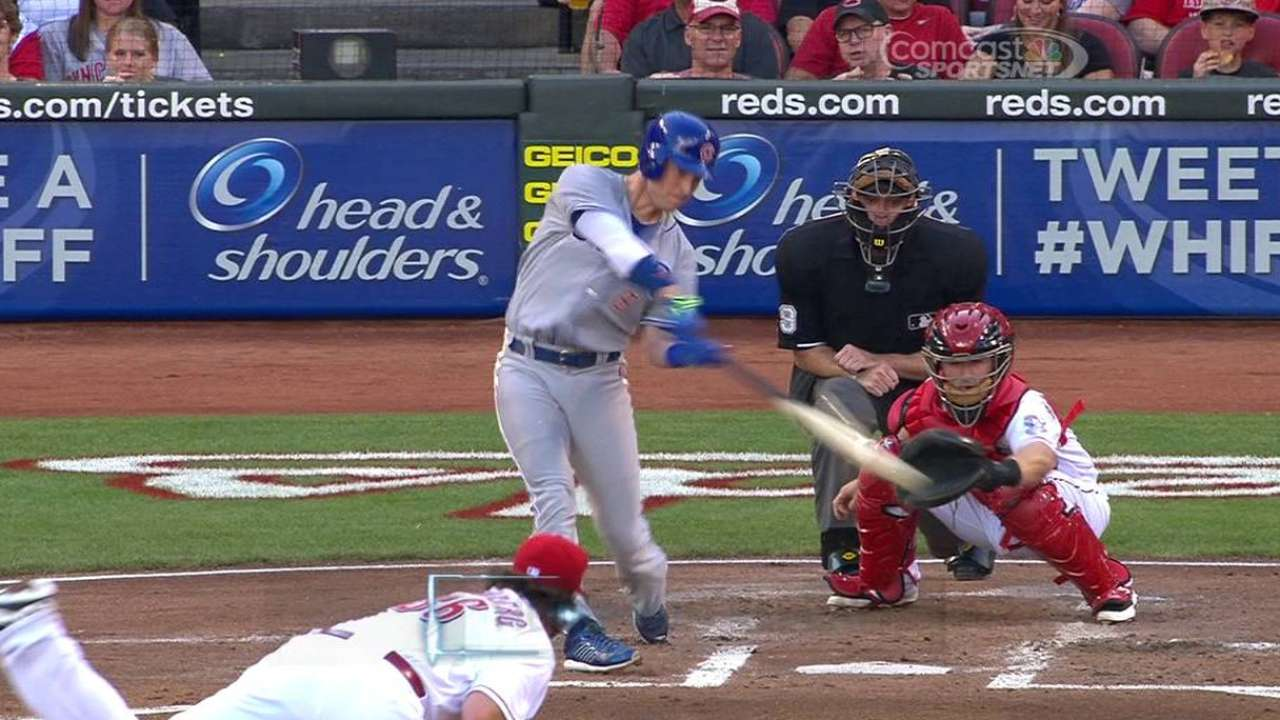 Coghlan goes yard in both games of twin bill