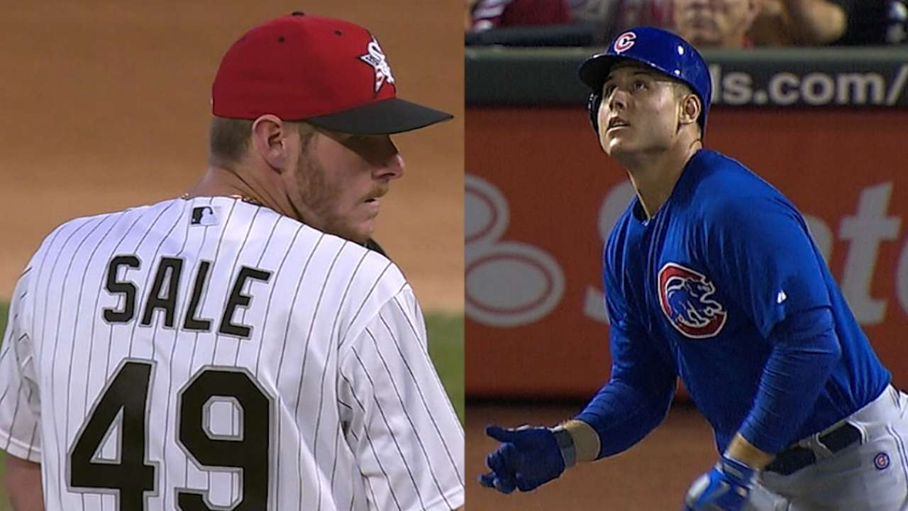 All Chicago: Sale in lead, Rizzo passes Morneau