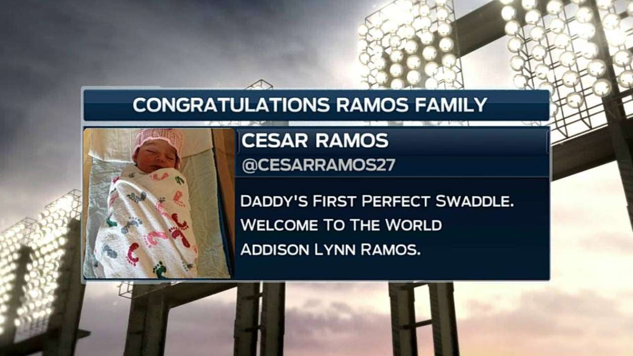 Ramos off paternity leave, ready for 'pen duty