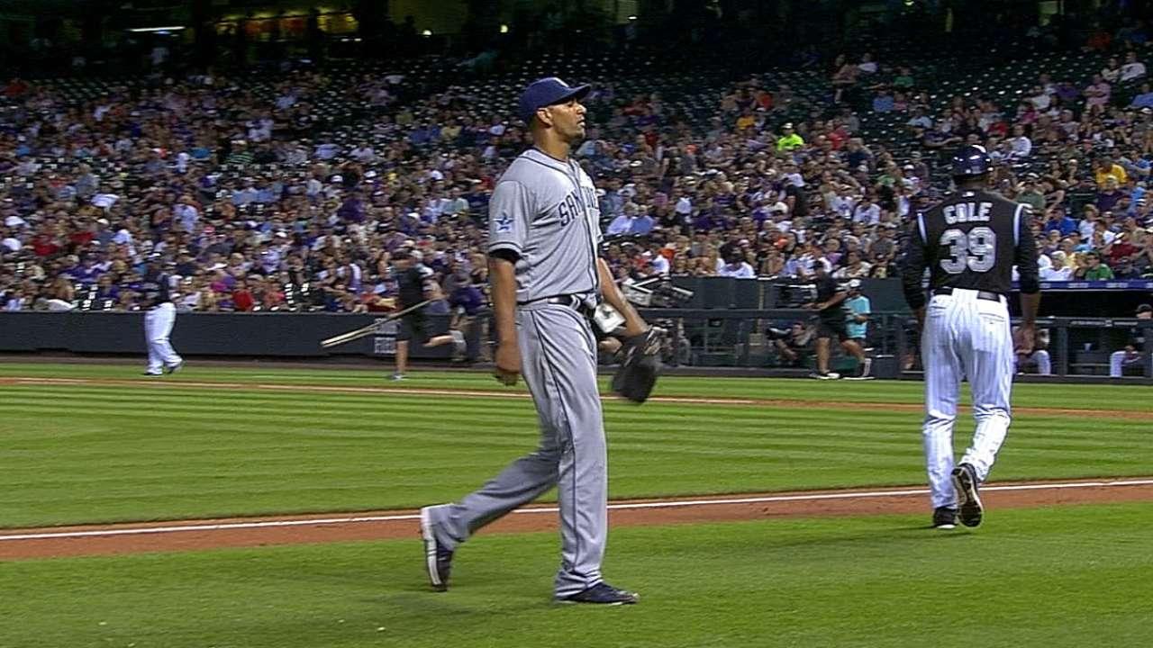 Ross solid but Padres bats quiet in Colorado