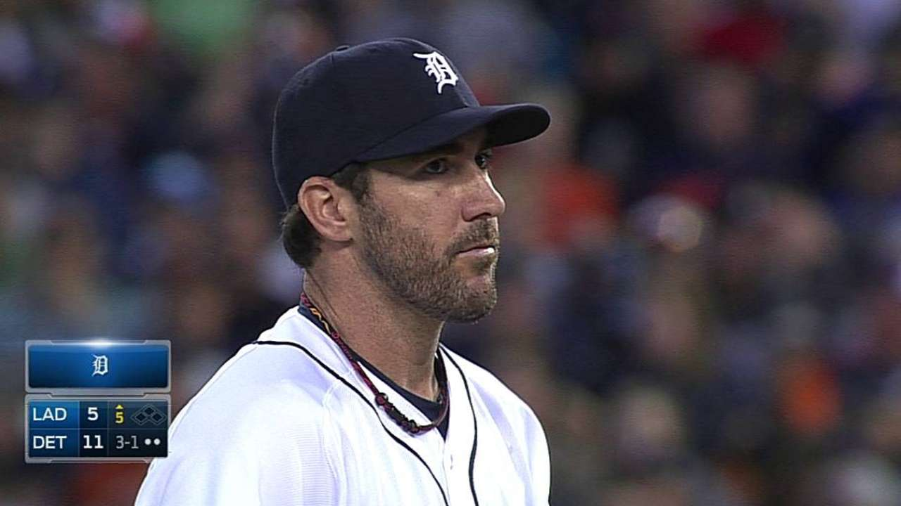 Verlander rebounds after rocky first inning
