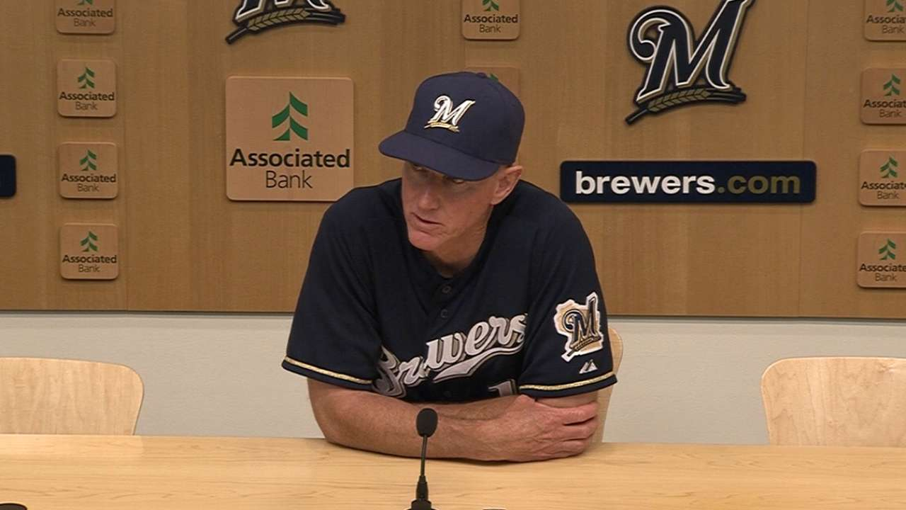 Roenicke deserves NL Manager of Year honors