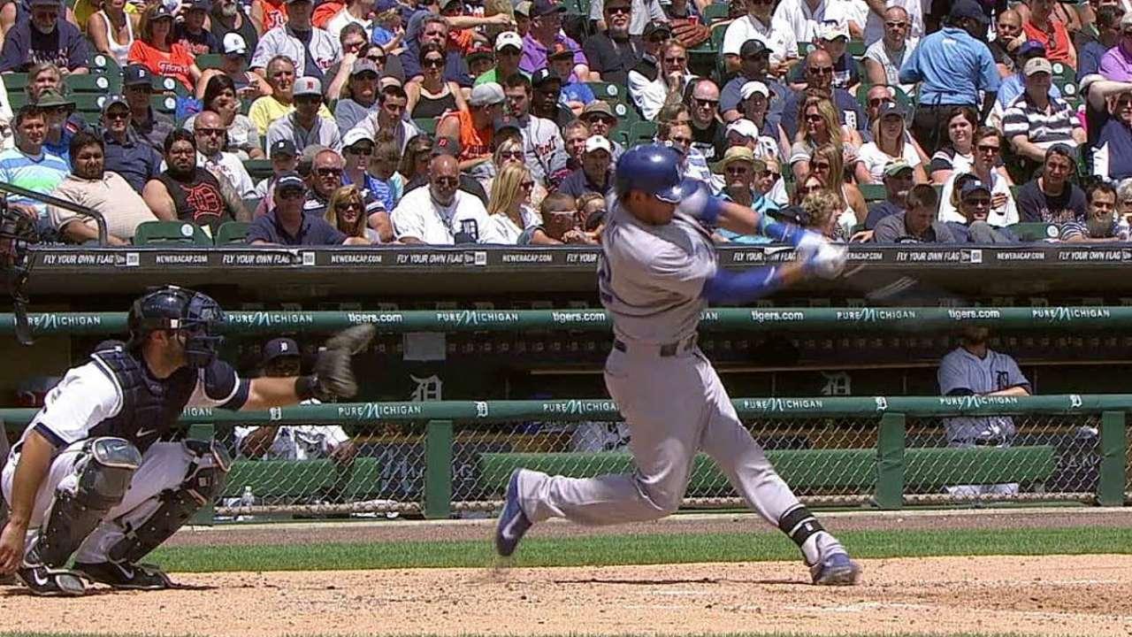 Greinke, Dodgers se quedan cortos vs. Scherzer, Tigres