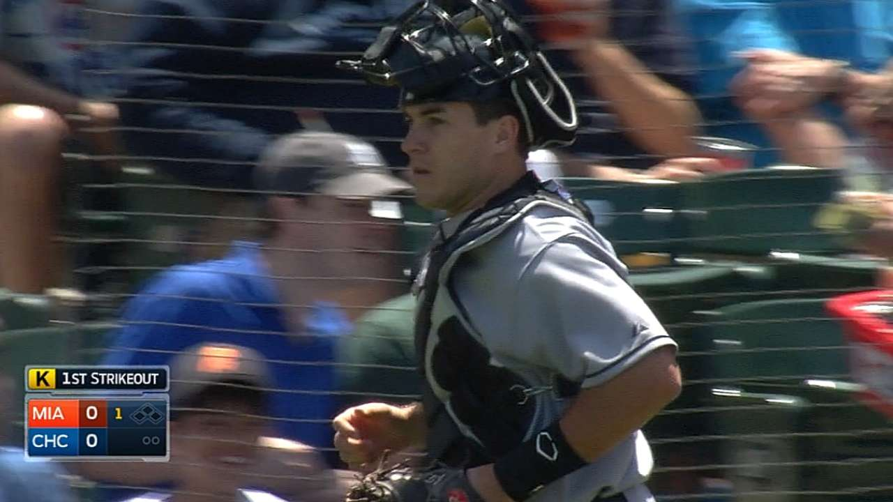 Realmuto up, Disco down as Marlins balance roster